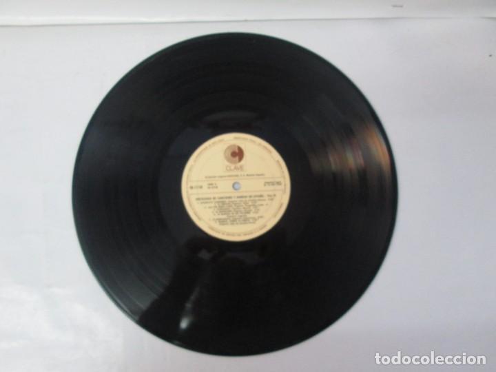 Discos de vinilo: ANTOLOGIA DE CANCIONES Y DANZAS DE ESPAÑA. LP VINILO. CLAVE HISPAVOX 1968. VER FOTOGRAFIAS - Foto 9 - 139934978