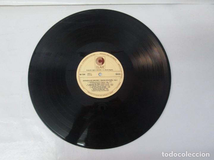 Discos de vinilo: ANTOLOGIA DE CANCIONES Y DANZAS DE ESPAÑA. LP VINILO. CLAVE HISPAVOX 1968. VER FOTOGRAFIAS - Foto 12 - 139934978
