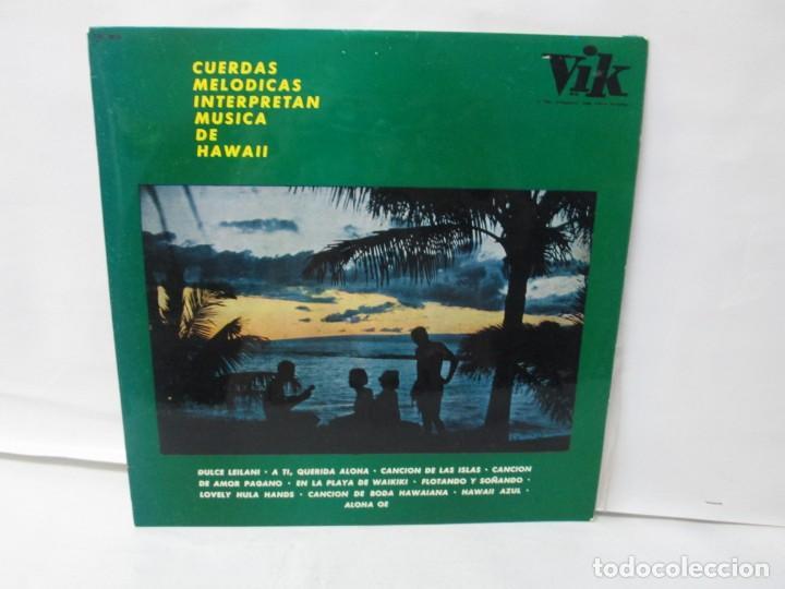 CUERDAS MELODICAS INTERPRETAN MUSICA DE HAWAII. LP VINILO. VIK 1963. VER FOTOGRAFIAS ADJUNTAS (Música - Discos - LP Vinilo - Étnicas y Músicas del Mundo)