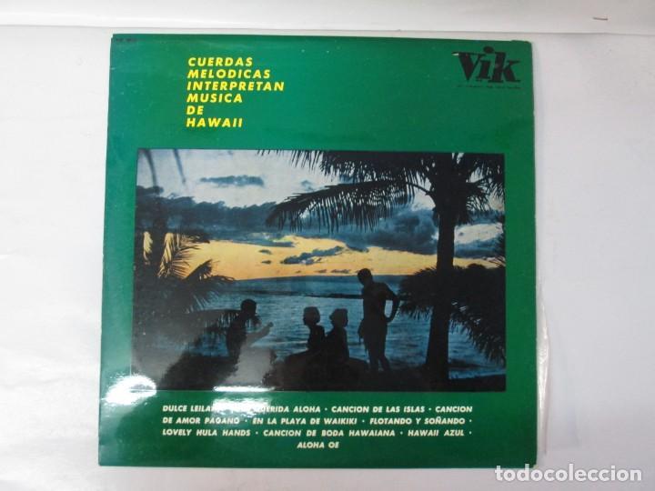 Discos de vinilo: CUERDAS MELODICAS INTERPRETAN MUSICA DE HAWAII. LP VINILO. VIK 1963. VER FOTOGRAFIAS ADJUNTAS - Foto 2 - 139937950