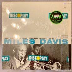 Discos de vinilo: LP MILES DAVIS : VOLUMEN 2 - BLUE NOTE BST 81502 - MUY RARO - 1985. Lote 139939420
