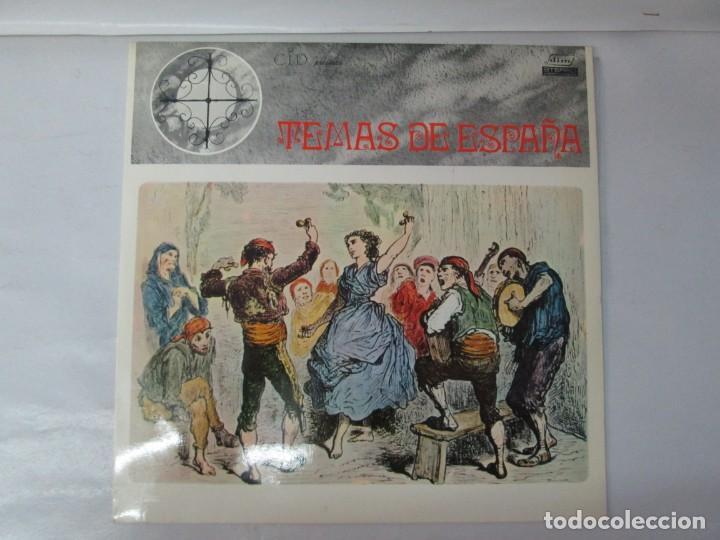 Discos de vinilo: TEMAS DE ESPAÑA. LP VINILO. DIM ESTEREO S.E.D.M. 1969. VER FOTOGRAFIAS ADJUNTAS - Foto 2 - 139940266