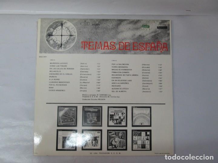 Discos de vinilo: TEMAS DE ESPAÑA. LP VINILO. DIM ESTEREO S.E.D.M. 1969. VER FOTOGRAFIAS ADJUNTAS - Foto 9 - 139940266