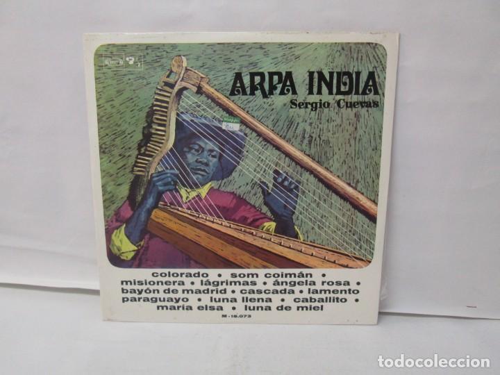 ARPA INDIA. SERGIO CUEVAS. LP VINILO. MOVIEPLAY 1968. VER FOTOGRAFIAS ADJUNTAS (Música - Discos - LP Vinilo - Otros Festivales de la Canción)