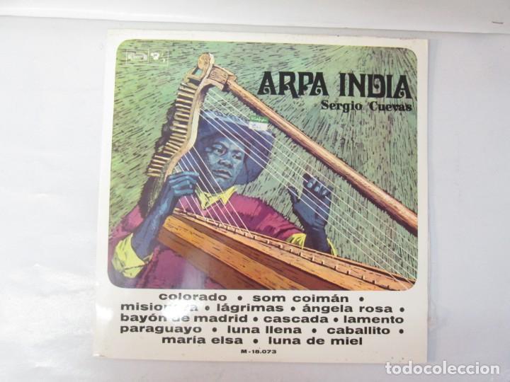 Discos de vinilo: ARPA INDIA. SERGIO CUEVAS. LP VINILO. MOVIEPLAY 1968. VER FOTOGRAFIAS ADJUNTAS - Foto 2 - 139944982