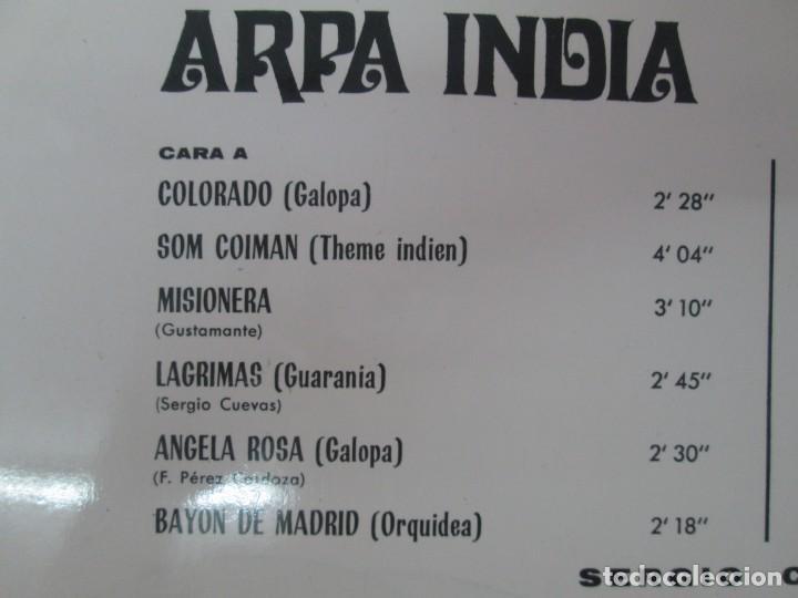 Discos de vinilo: ARPA INDIA. SERGIO CUEVAS. LP VINILO. MOVIEPLAY 1968. VER FOTOGRAFIAS ADJUNTAS - Foto 3 - 139944982