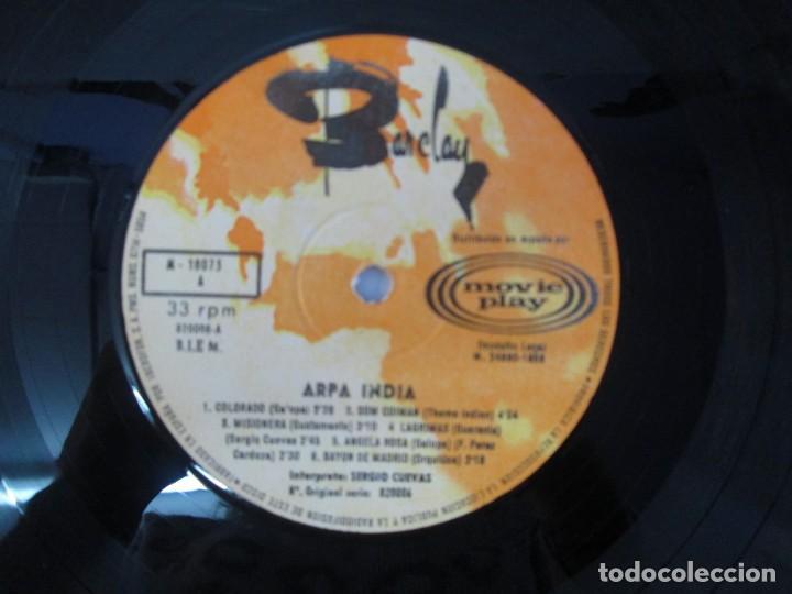Discos de vinilo: ARPA INDIA. SERGIO CUEVAS. LP VINILO. MOVIEPLAY 1968. VER FOTOGRAFIAS ADJUNTAS - Foto 6 - 139944982