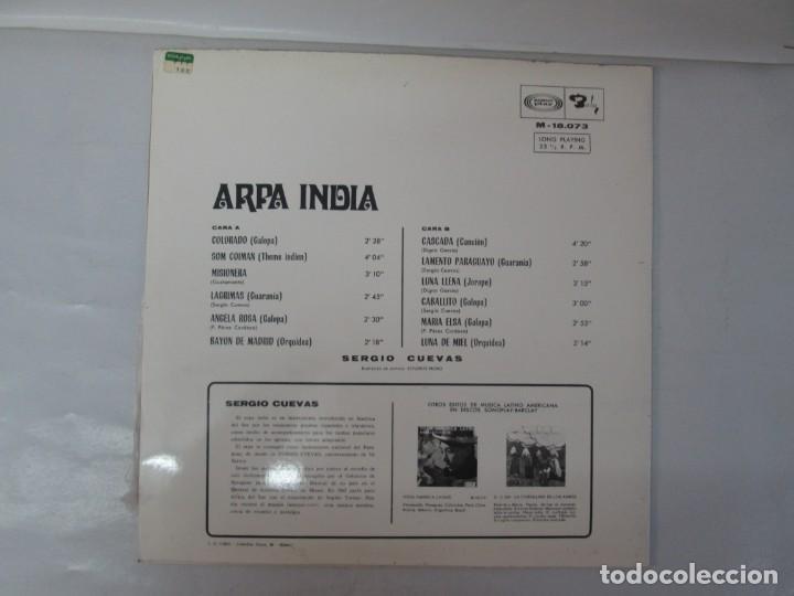Discos de vinilo: ARPA INDIA. SERGIO CUEVAS. LP VINILO. MOVIEPLAY 1968. VER FOTOGRAFIAS ADJUNTAS - Foto 9 - 139944982