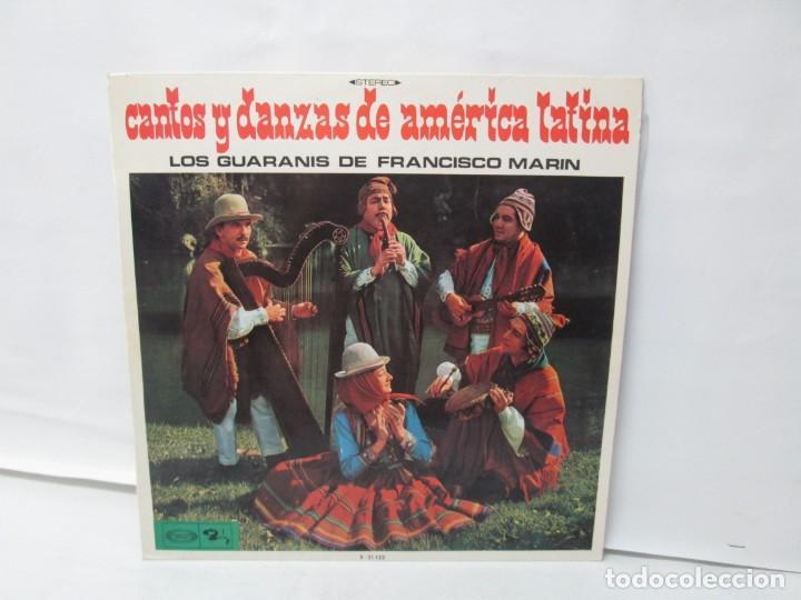 CANTOS Y DANZAS DE AMERICA LATINA. LOS GUARANIS DE FRANCISCO MARIN. LP VINILO. MOVIEPLAY 1969. (Música - Discos - LP Vinilo - Étnicas y Músicas del Mundo)