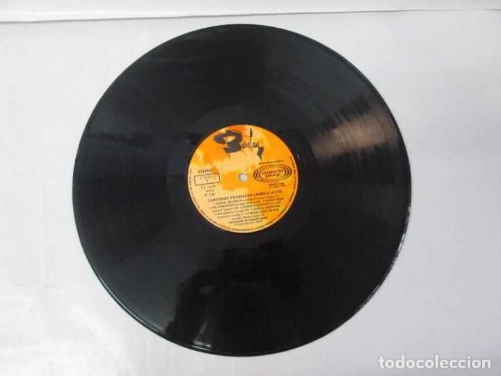 Discos de vinilo: CANTOS Y DANZAS DE AMERICA LATINA. LOS GUARANIS DE FRANCISCO MARIN. LP VINILO. MOVIEPLAY 1969. - Foto 5 - 139949114