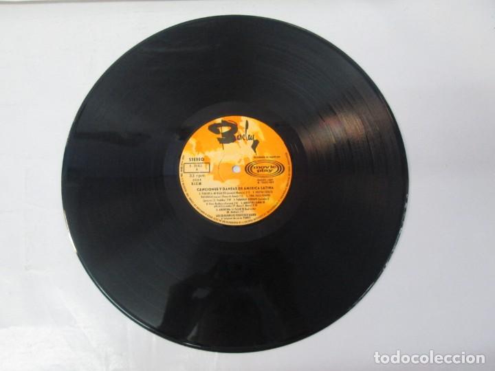 Discos de vinilo: CANTOS Y DANZAS DE AMERICA LATINA. LOS GUARANIS DE FRANCISCO MARIN. LP VINILO. MOVIEPLAY 1969. - Foto 7 - 139949114