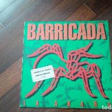 Discos de vinilo: BARRICADA-LA ARAÑA.LP. Lote 139950250