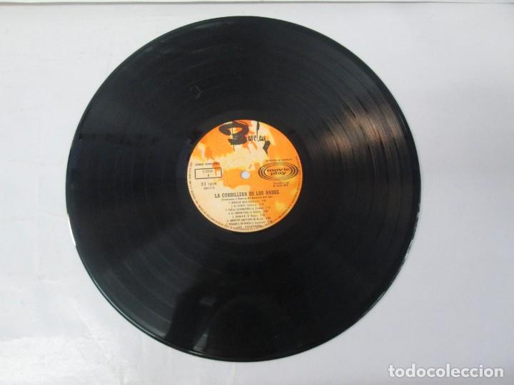 Discos de vinilo: LA CORDILLERA DE LOS ANDES. DANZAS Y CANCIONES DE AMERICA DEL SUR CON LOS CALCHAKIS. LP VINILO 1968 - Foto 7 - 139951734