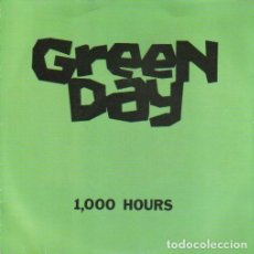 Discos de vinilo: 1000 HOURS. - GREEN DAY. EP. 7 45 R.P.M. POP-ROCK.. Lote 139955482