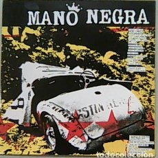 Discos de vinilo: THE DIRTY DOZEN. - MANO NEGRA. LP. POP-ROCK.. Lote 139955674
