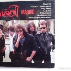 Discos de vinilo: MADRID. - LP. BURNING. POP-ROCK.. Lote 139955762