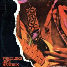 Discos de vinilo: FABULOSO JIMI HENDRIX. - JIMI HENDRIX. LP DOBLE. ROCK.. Lote 139956773