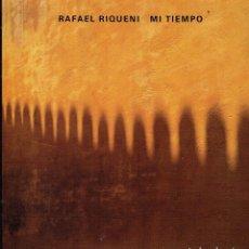 Discos de vinilo: MI TIEMPO. - LP DE VINILO. RAFAEL RIQUENI.FLAMENCO.. Lote 139956857