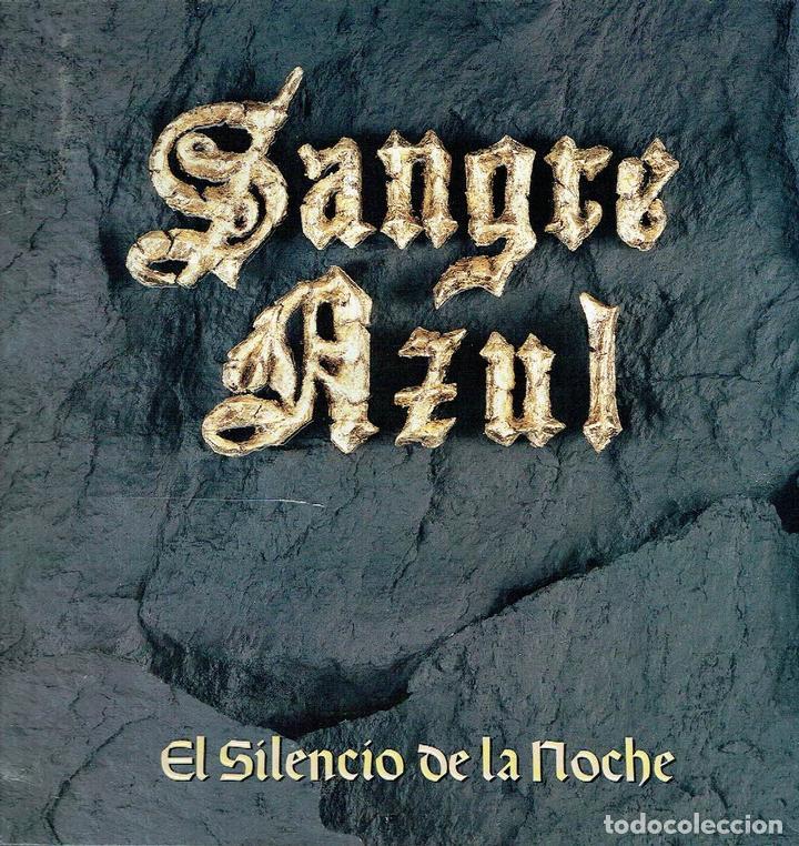 EL SILENCIO DE LA NOCHE. - LP. 33 R.P.M. SANGRE AZUL. HEAVY METAL ESPAÑOL. (Música - Discos - LP Vinilo - Heavy - Metal)