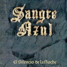 Discos de vinilo: EL SILENCIO DE LA NOCHE. - LP. 33 R.P.M. SANGRE AZUL. HEAVY METAL ESPAÑOL.. Lote 139956873