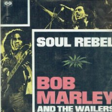 Discos de vinilo: SOUL REBEL. - LP. BOB MARLEY AND THE WAILERS. REGGAE.. Lote 139957061