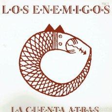 Discos de vinilo: LOS ENEMIGOS. LA CUENTA ATRÁS. - LP DE VINILO 12 33 R.P.M. LOS ENEMIGOS. ROCK ESPAÑOL.. Lote 139957229