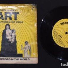 Discos de vinilo: SINGLE EP VINILO ART, THE ONLY BAND IN THE WORLD -THE ONLY RECORD IN THE WORLD - PUNK. Lote 139961250