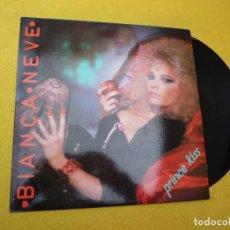 Discos de vinilo: MAXI SINGLE VINYL BIANCA NEVE – PRINCE KISS (EX++/M-) ITALO DISCO SPANISH . Lote 139963778