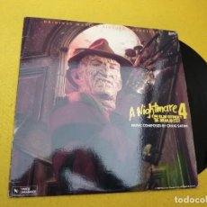 Discos de vinilo: LP VINYL CRAIG SAFAN ?– A NIGHTMARE ON ELM STREET 4: THE DREAM MASTER (EX/M-). Lote 139966046