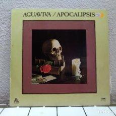 Discos de vinilo: AGUAVIVA. Lote 139966758