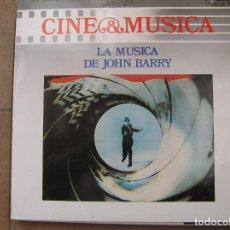 Discos de vinilo: JOHN BARRY – LA MÚSICA DE JOHN BARRY - CBS SPECIAL PRODUCTS 1987 - LP - PR. Lote 139967454