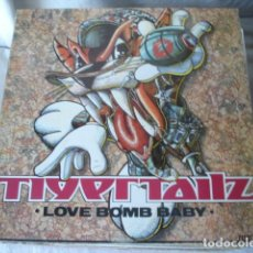 Discos de vinilo: TIGERTAILZ LOVE BOMB BABY . Lote 139969370