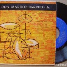 Discos de vinilo: DON MARINO BARRETO JR - BANANA BOAT - EP 1958 - PHILIPS. Lote 139985734