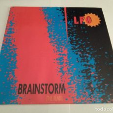 Discos de vinilo: LFO - BRAINSTORM (THE REMIX) / MAXI SINGLE IMPORT TEMAZOS RUTA DESTROY VALENCIA. Lote 213485686