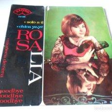 Discos de vinilo: ROSALIA, EP, CHICA YE-YÉ + 3, AÑO 1965. Lote 140004970