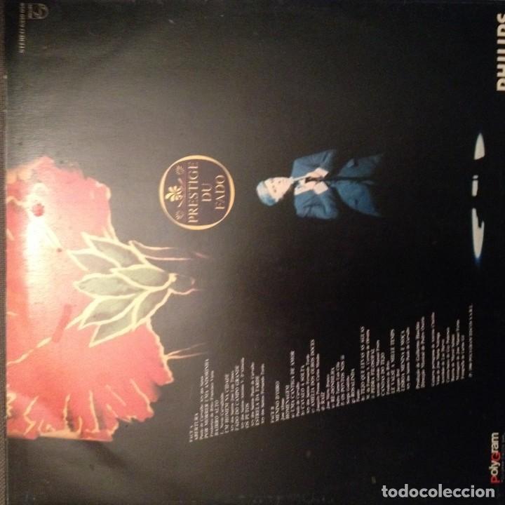 Discos de vinilo: CARLOS DO CARMO - AO VIVO NO OLYMPIA. FADO Philips 6330 058 Ed. portugal - Foto 2 - 140006418