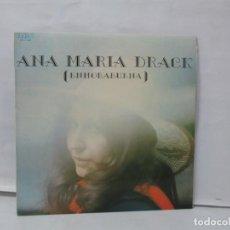 Discos de vinilo: ANA MARIA DRACK. ENHORABUENA. LP VINILO. RCA 1976. VER FOTOGRAFIAS ADJUNTAS. Lote 140006570