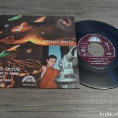 Discos de vinilo: FERNANDO MORALES - QUE TENDRA EL AMOR / LOS OVNIS + 2. Lote 140009846