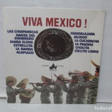 Discos de vinilo: VIVA MEXICO! LP VINILO. DIAL DISCOS 1976. VER FOTOGRAFIAS ADJUNTAS. Lote 140019274