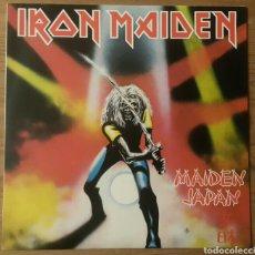 Discos de vinilo: IRON MAIDEN:MAIDEN JAPAN/BRASIL 1981. Lote 140021341