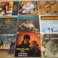 Discos de vinilo: LOTE DE 9 DISCOS SINGLES,DIFERENTES CANTANTES. Lote 140024570