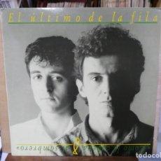 Discos de vinilo: EL ÚLTIMO DE LA FILA - COMO LA CABEZA AL SOMBRERO - LP. DEL SELLO PDI 1988. Lote 140028254