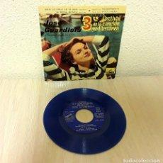 Discos de vinilo: DISCO VINILO SINGLE *JOSÉ GUARDIOLA TERCER FESTIVAL DE LA CANCIÓN MEDITERRÁNEA DE 1961* 7EPL 13.665. Lote 140037974