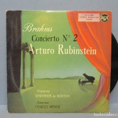Dischi in vinile: LP. BRAHMS. CONCIERTO Nº 2. RUBINSTEIN. RCA. Lote 140046114