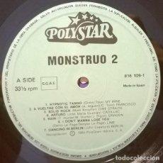 Discos de vinilo: MONSTRUO 2 (ESPAÑA, 1984)) [SÓLO EL DISCO 2 SIN CARÁTULA). Lote 140050006