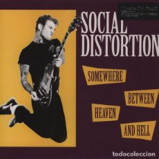 Discos de vinilo: LP SOCIAL DISTORTION - SOMEWHERE BETWEEN HEAVEN AND HELL / VINILO / ED. OFICIAL MUSIC ON VINYL 2011. Lote 140054026