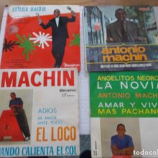 Discos de vinilo: LOTE DE ANTONIO MACHIN. EPS.. Lote 140072578