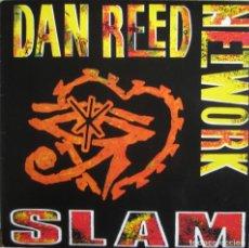 Discos de vinilo: DAN REED NETWORK: SLAM. EXCELENTE FUNK ROCK / POP ROCK U.S.A.. Lote 140076130