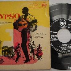 Discos de vinilo: THE MIGHTY ZEBRA CON LA MOTTA BROTHERS - CALYPSO EP AÑOS 50? ESPAÑOL. Lote 140077558