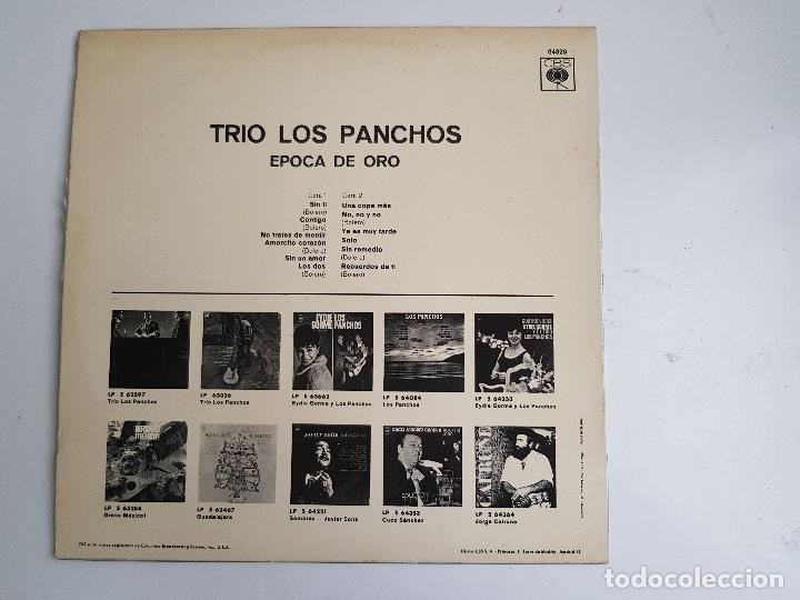 Discos de vinilo: TRIO LOS PANCHOS - EPOCA DE ORO (VINILO) - Foto 2 - 140079782